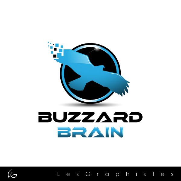 Logo Design by Les-Graphistes - Entry No. 2 in the Logo Design Contest Buzzard Brain Logo Design.