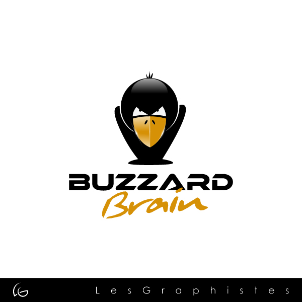 Logo Design by Les-Graphistes - Entry No. 3 in the Logo Design Contest Buzzard Brain Logo Design.