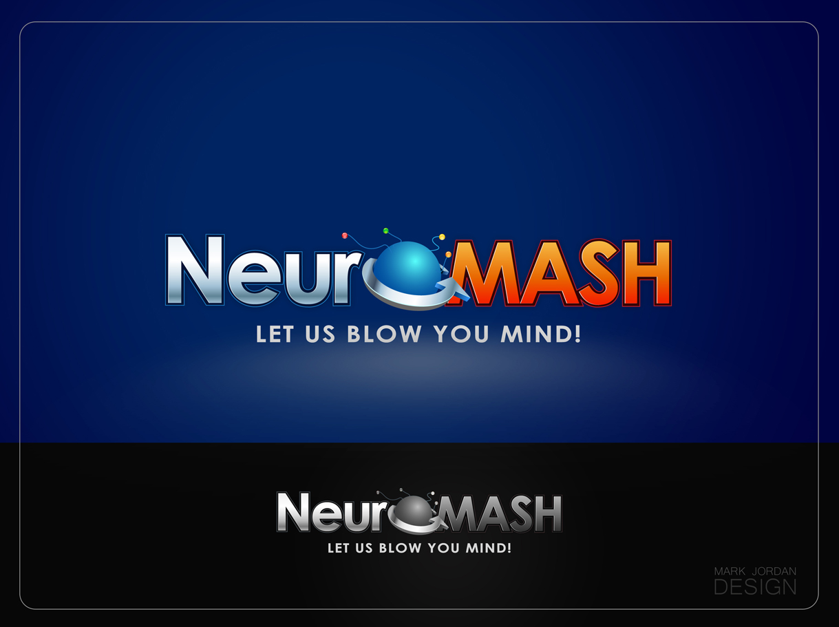 Logo Design by Mark Anthony Moreto Jordan - Entry No. 68 in the Logo Design Contest Unique Logo Design Wanted for NeuroMash.