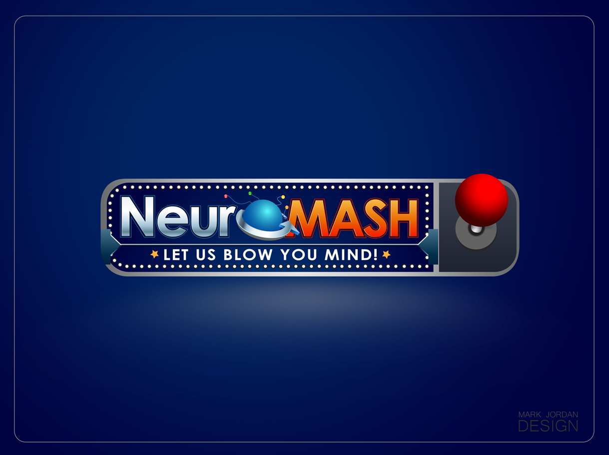 Logo Design by Mark Anthony Moreto Jordan - Entry No. 70 in the Logo Design Contest Unique Logo Design Wanted for NeuroMash.