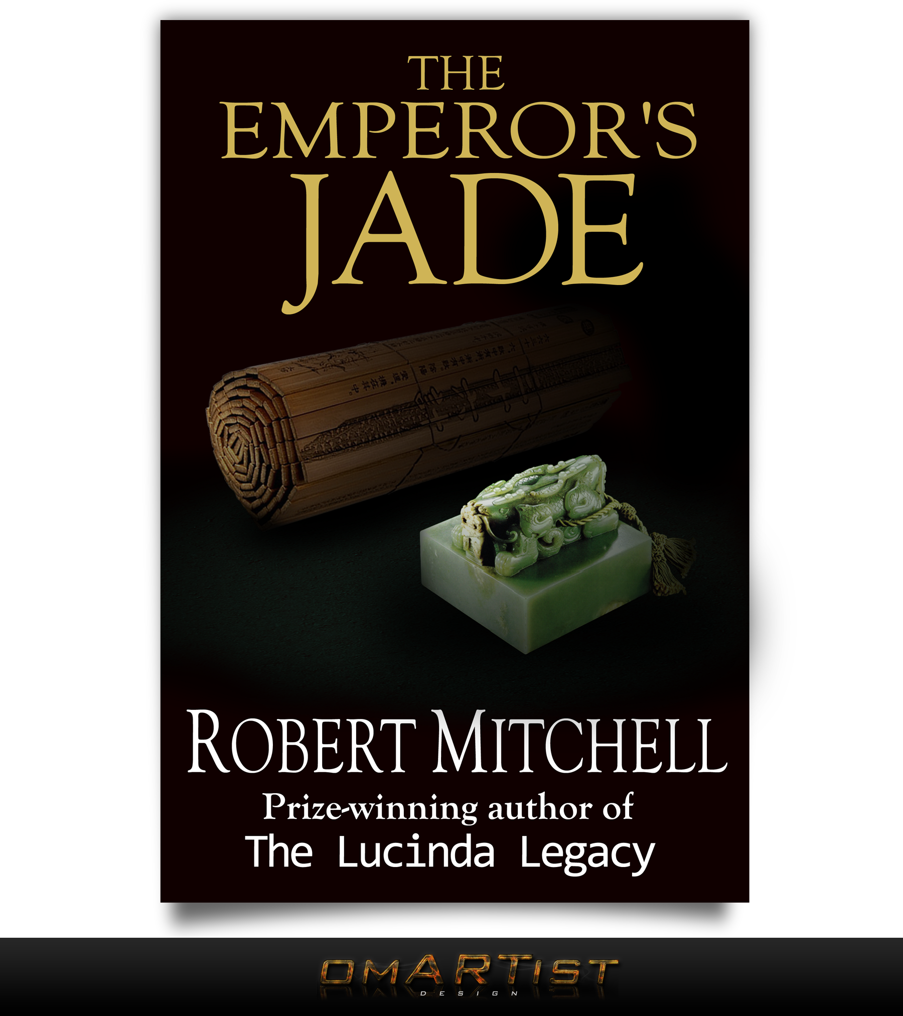 Book Cover Design by omARTist - Entry No. 69 in the Book Cover Design Contest Book Cover Design for The Emperor's Jade.