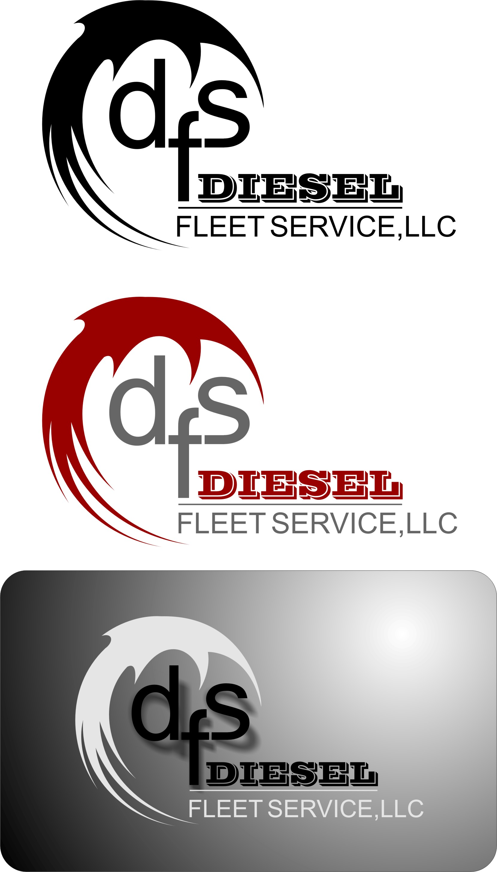 Logo Design by Korsunov Oleg - Entry No. 14 in the Logo Design Contest Artistic Logo Design for Diesel Fleet Service, LLC.