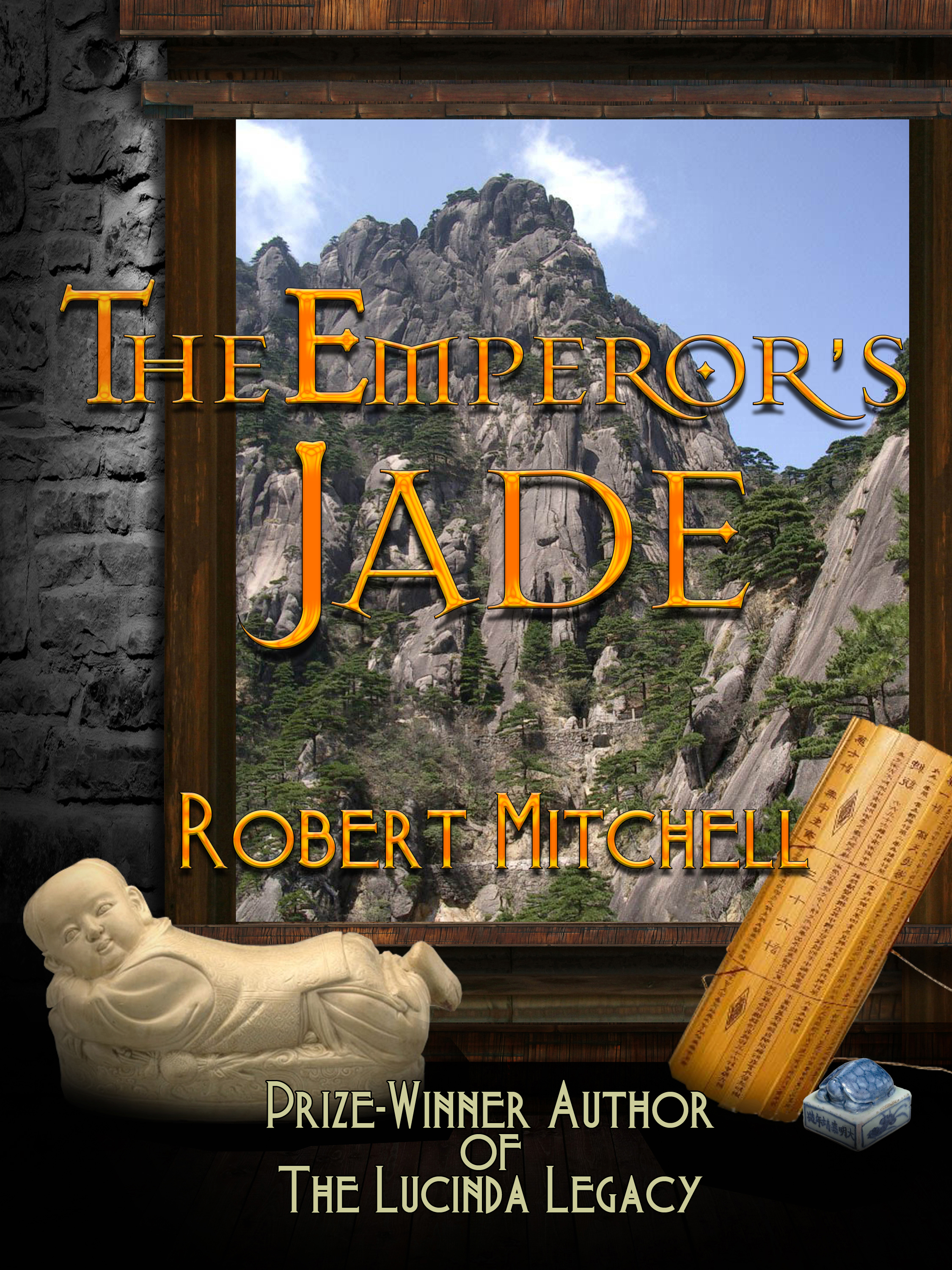 Book Cover Design by MITUCA ANDREI - Entry No. 71 in the Book Cover Design Contest Book Cover Design for The Emperor's Jade.