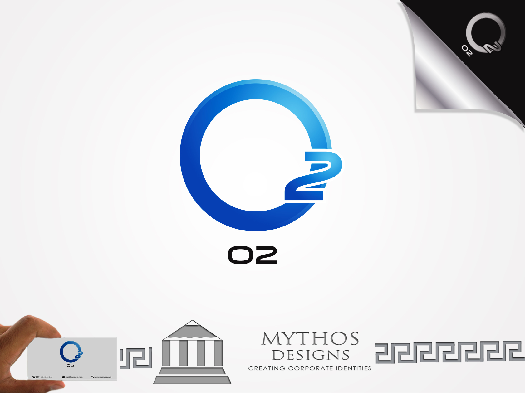 Logo Design by Mythos Designs - Entry No. 188 in the Logo Design Contest Artistic Logo Design for O2.