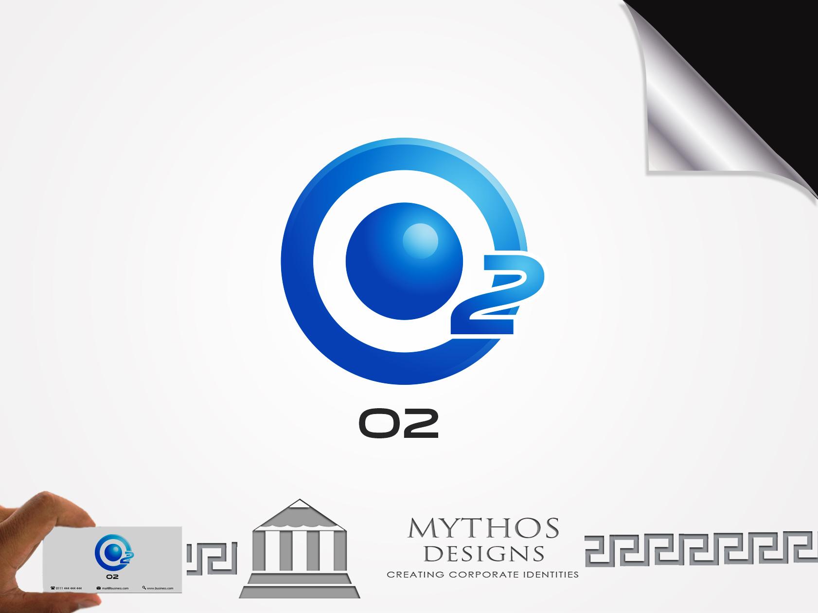 Logo Design by Mythos Designs - Entry No. 189 in the Logo Design Contest Artistic Logo Design for O2.