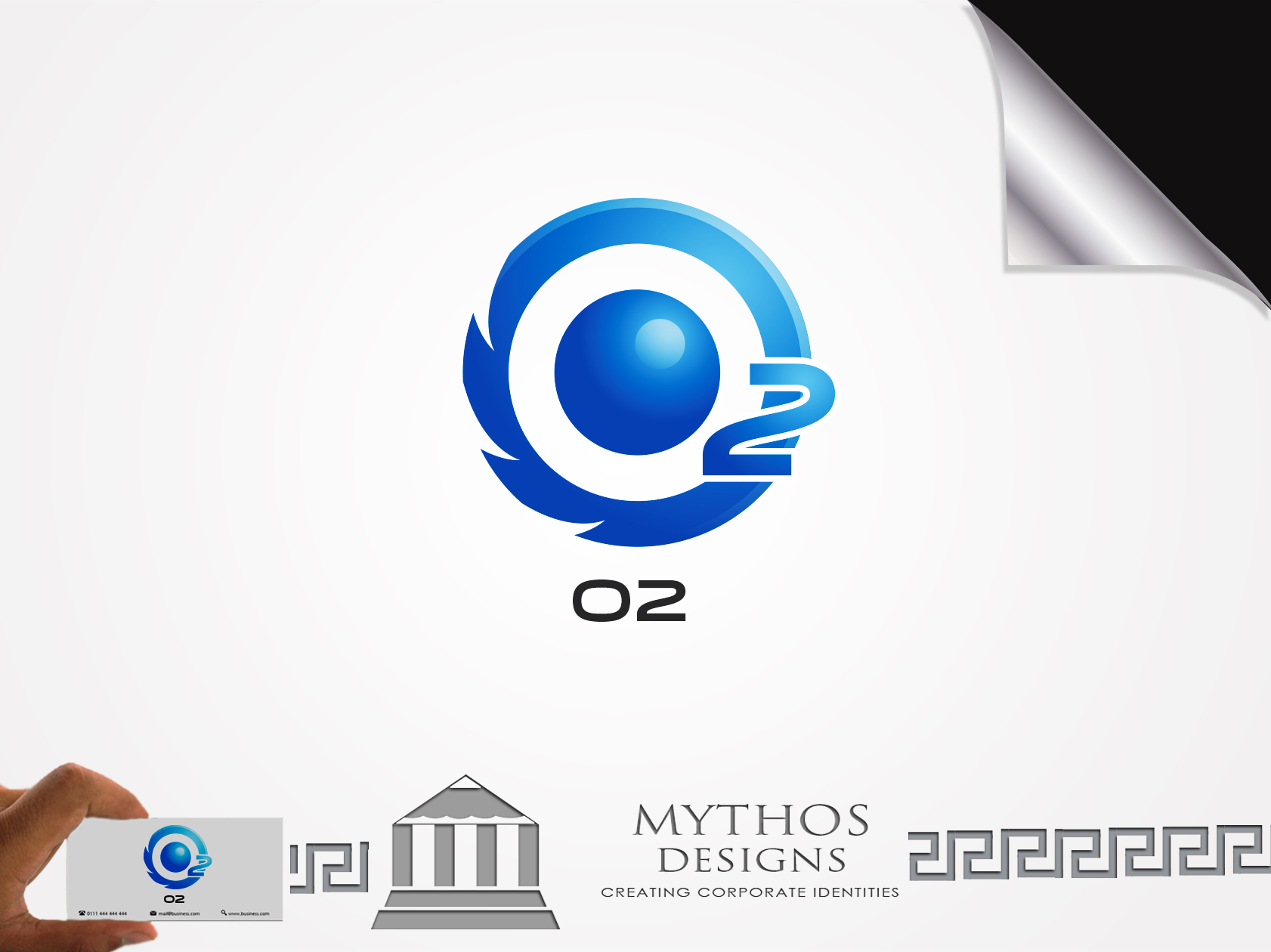 Logo Design by Mythos Designs - Entry No. 191 in the Logo Design Contest Artistic Logo Design for O2.