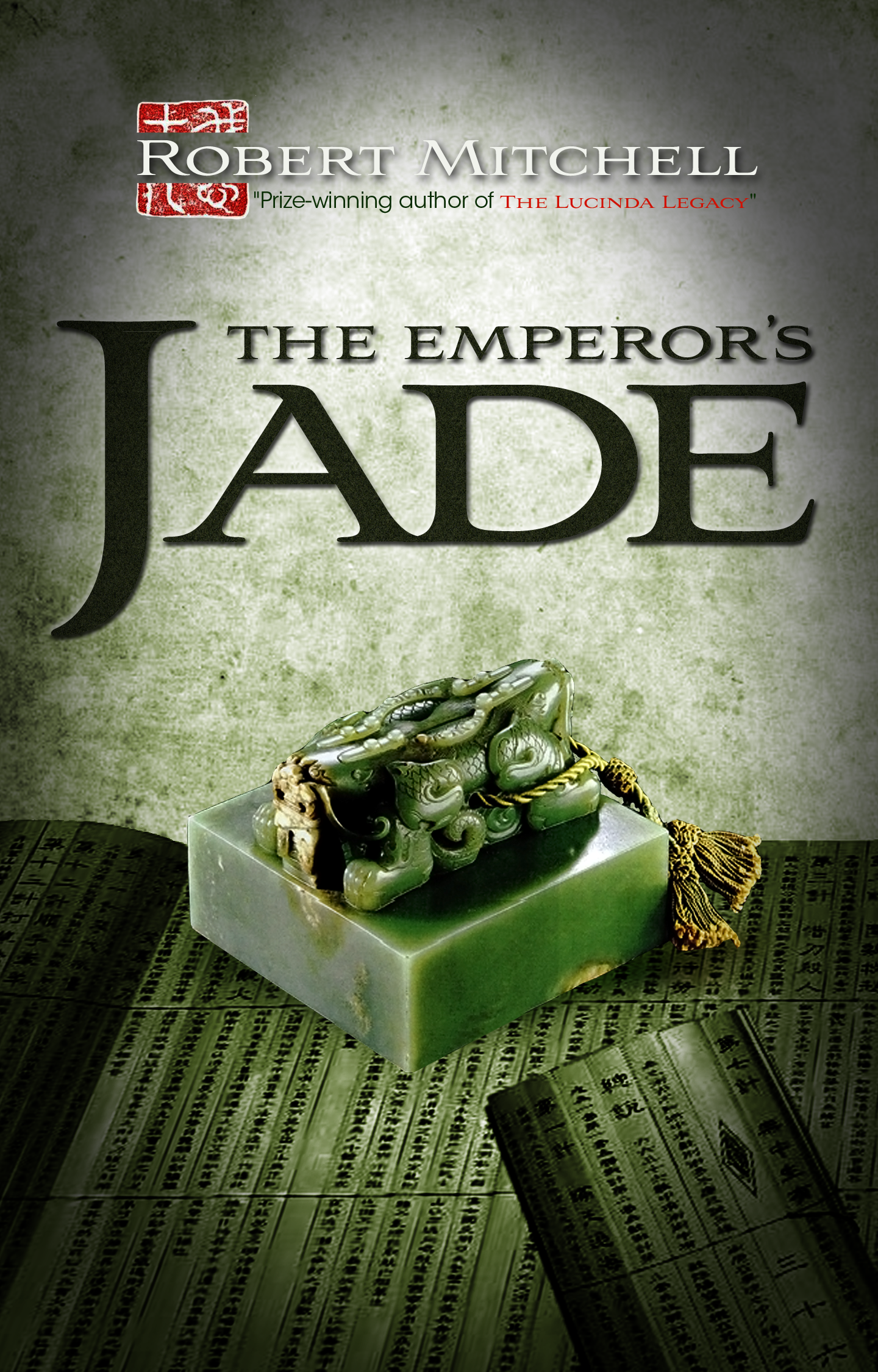 Book Cover Design by zesthar - Entry No. 72 in the Book Cover Design Contest Book Cover Design for The Emperor's Jade.