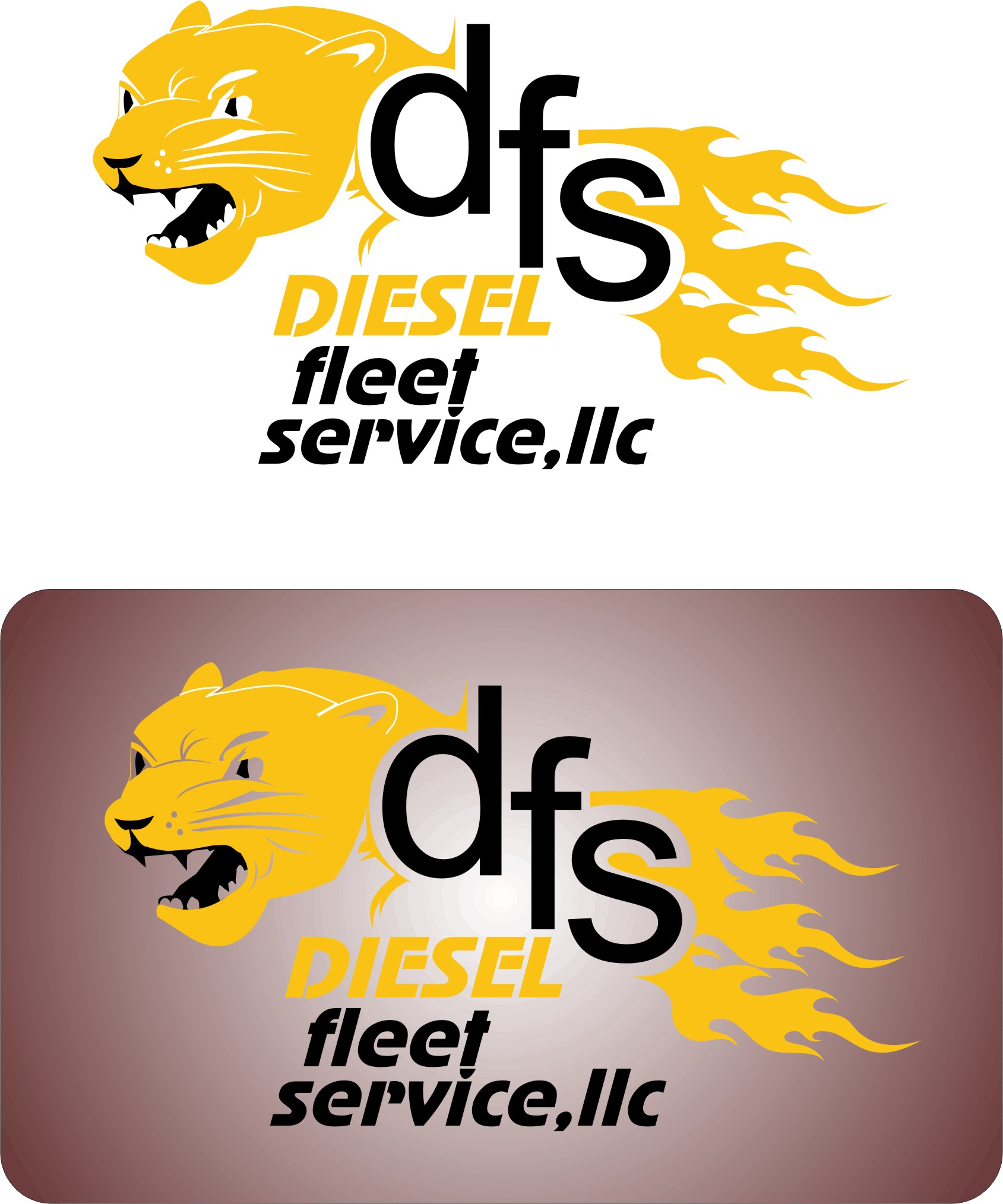 Logo Design by Korsunov Oleg - Entry No. 15 in the Logo Design Contest Artistic Logo Design for Diesel Fleet Service, LLC.