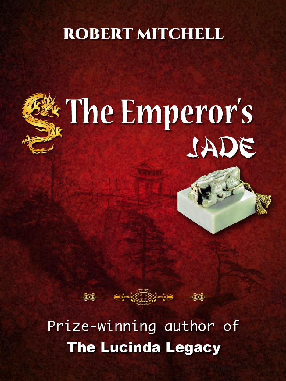 Book Cover Design by Thanasis Athanasopoulos - Entry No. 76 in the Book Cover Design Contest Book Cover Design for The Emperor's Jade.