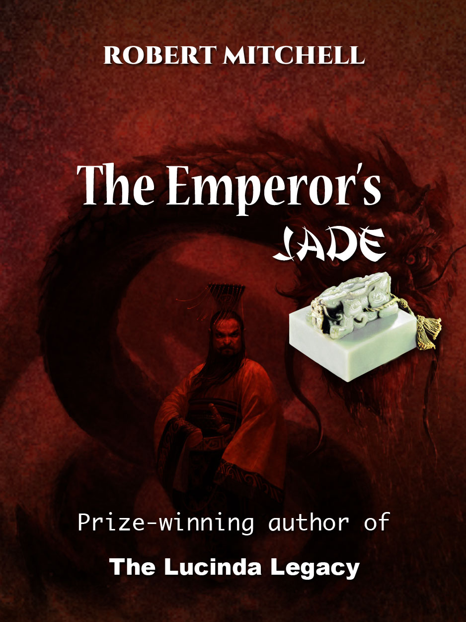 Book Cover Design by Thanasis Athanasopoulos - Entry No. 77 in the Book Cover Design Contest Book Cover Design for The Emperor's Jade.