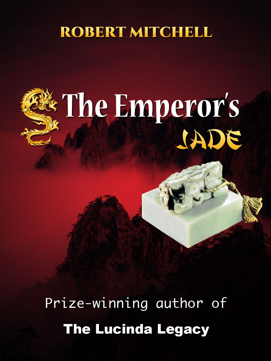 Book Cover Design by Thanasis Athanasopoulos - Entry No. 78 in the Book Cover Design Contest Book Cover Design for The Emperor's Jade.