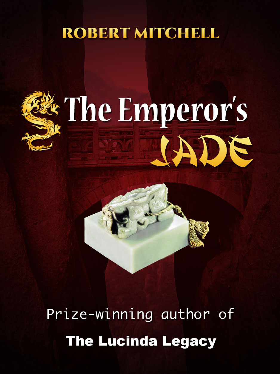 Book Cover Design by Thanasis Athanasopoulos - Entry No. 79 in the Book Cover Design Contest Book Cover Design for The Emperor's Jade.