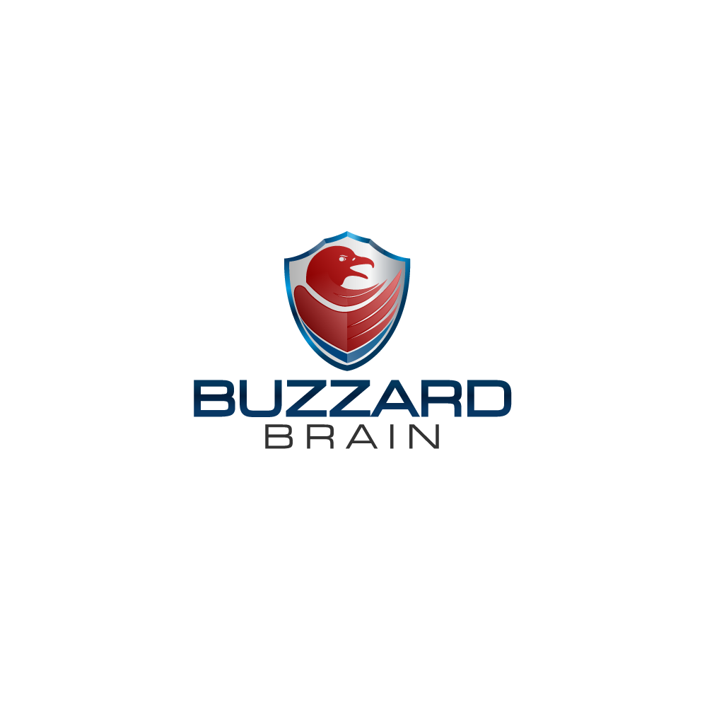 Logo Design by rockin - Entry No. 8 in the Logo Design Contest Buzzard Brain Logo Design.