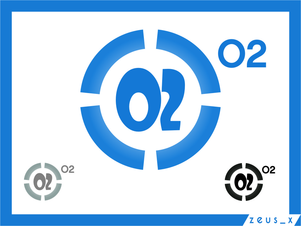 Logo Design by RasYa Muhammad Athaya - Entry No. 204 in the Logo Design Contest Artistic Logo Design for O2.
