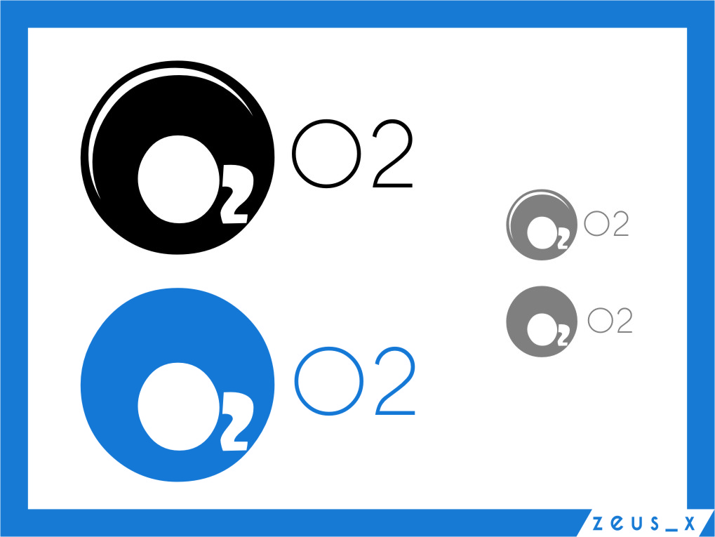 Logo Design by Ngepet_art - Entry No. 206 in the Logo Design Contest Artistic Logo Design for O2.