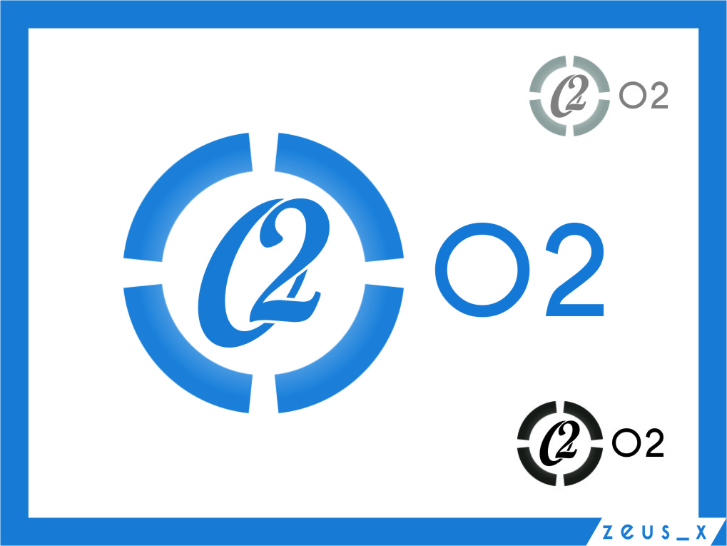 Logo Design by RasYa Muhammad Athaya - Entry No. 207 in the Logo Design Contest Artistic Logo Design for O2.