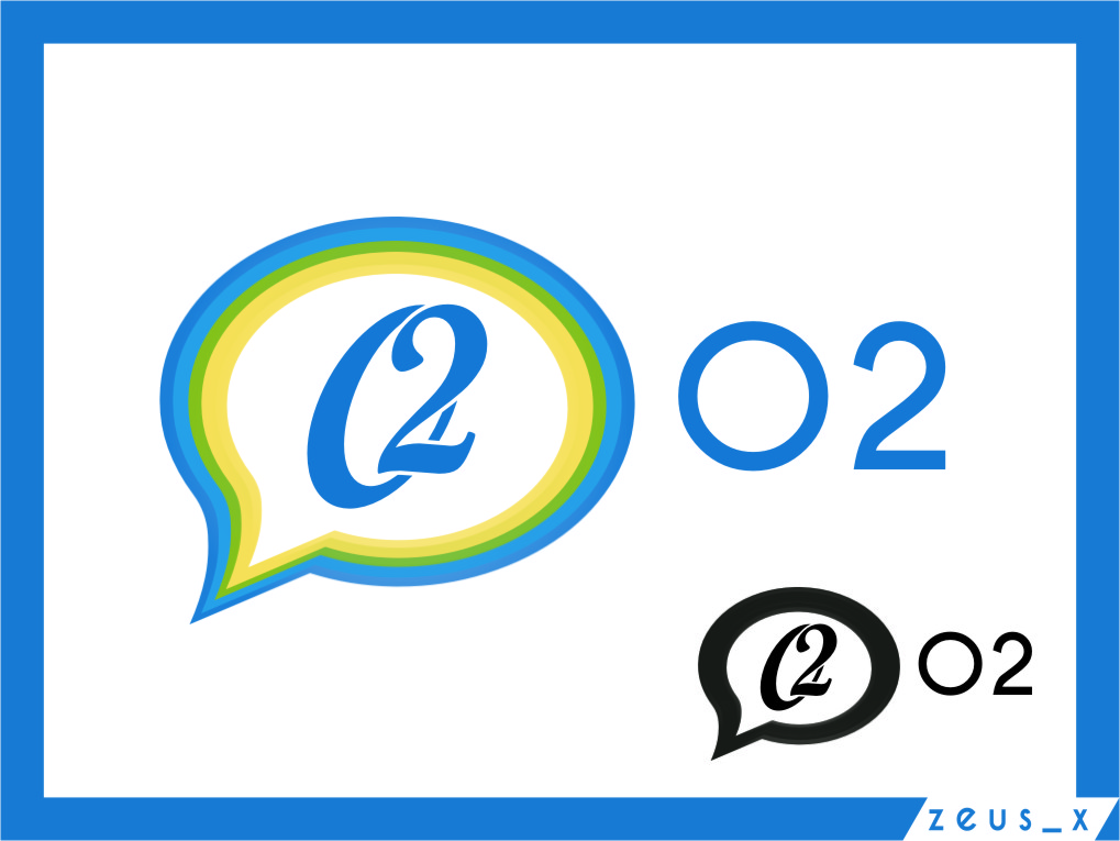 Logo Design by RoSyid Rono-Rene On Java - Entry No. 209 in the Logo Design Contest Artistic Logo Design for O2.