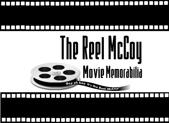 Logo Design by Ismail Adhi Wibowo - Entry No. 19 in the Logo Design Contest Unique Logo Design Wanted for The Reel McCoy Movie Memorabilia.