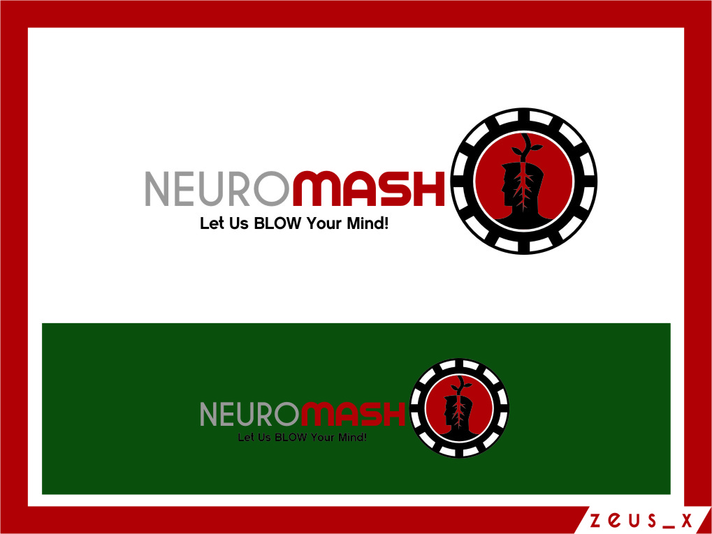 Logo Design by Ngepet_art - Entry No. 79 in the Logo Design Contest Unique Logo Design Wanted for NeuroMash.