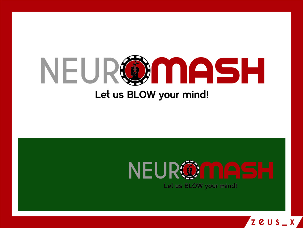 Logo Design by Ngepet_art - Entry No. 80 in the Logo Design Contest Unique Logo Design Wanted for NeuroMash.