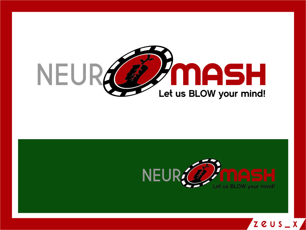 Logo Design by Ngepet_art - Entry No. 81 in the Logo Design Contest Unique Logo Design Wanted for NeuroMash.