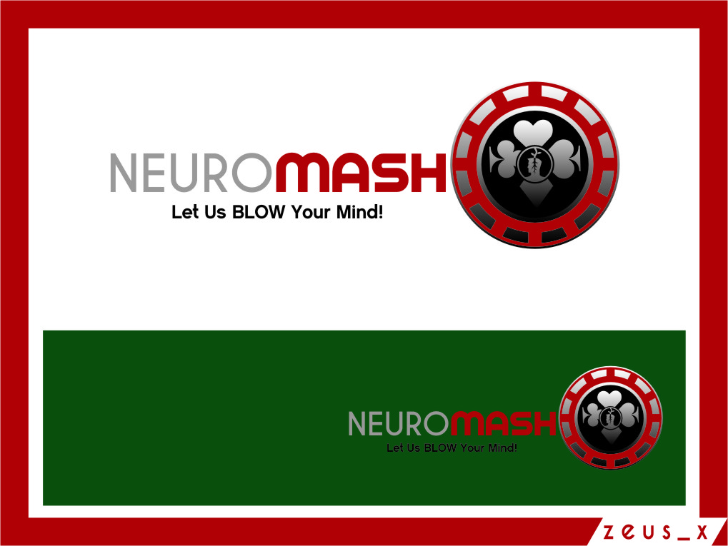 Logo Design by Ngepet_art - Entry No. 82 in the Logo Design Contest Unique Logo Design Wanted for NeuroMash.