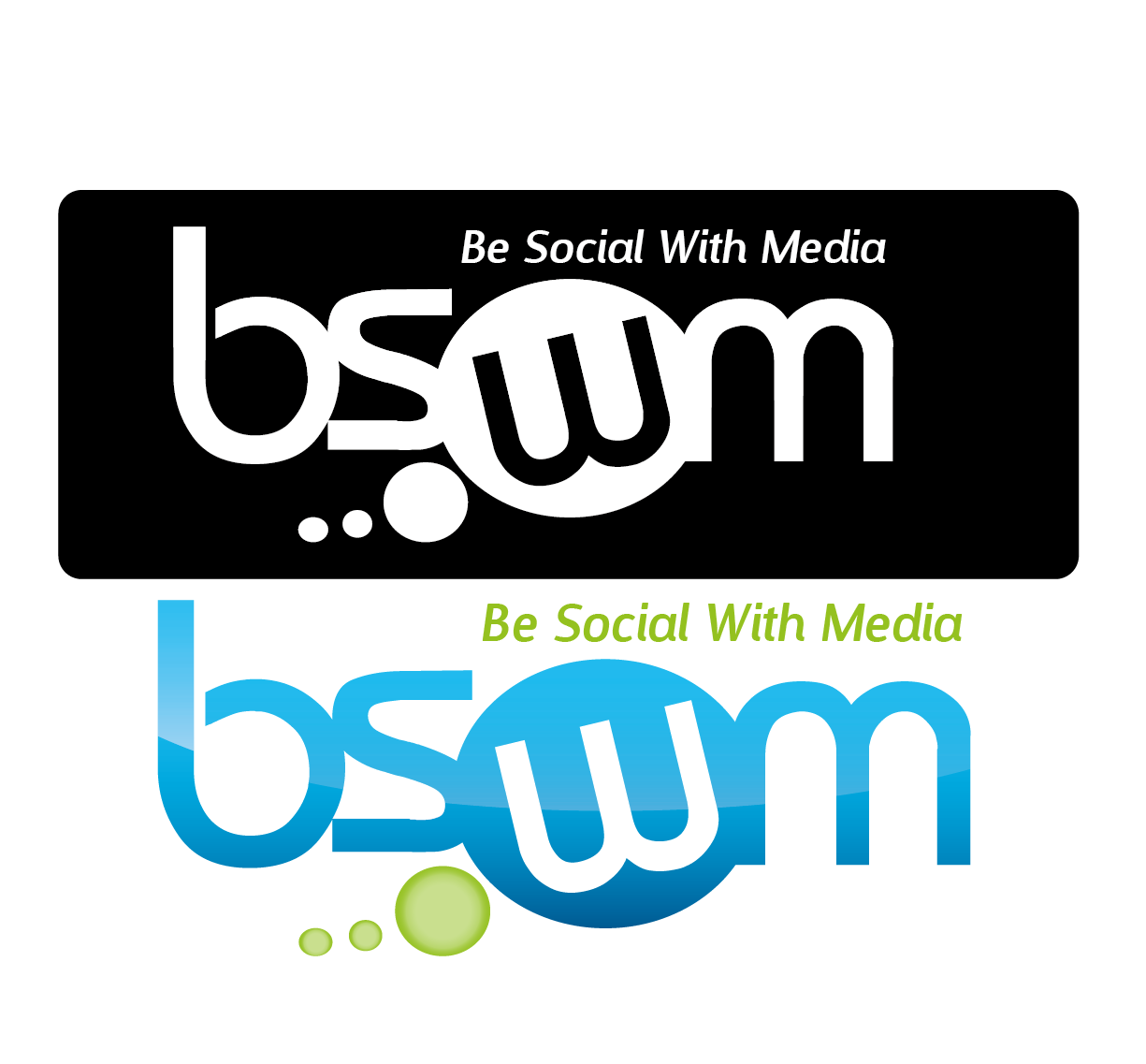 Logo Design by 354studio - Entry No. 68 in the Logo Design Contest Imaginative Logo Design for Be Social With Media.