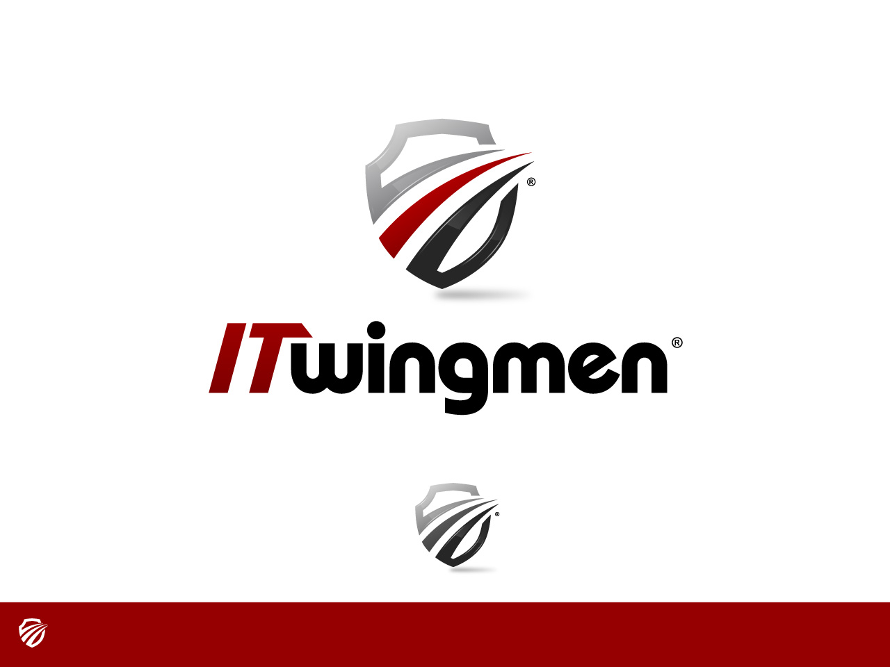 Logo Design by jpbituin - Entry No. 104 in the Logo Design Contest New Logo Design for IT Wingmen.