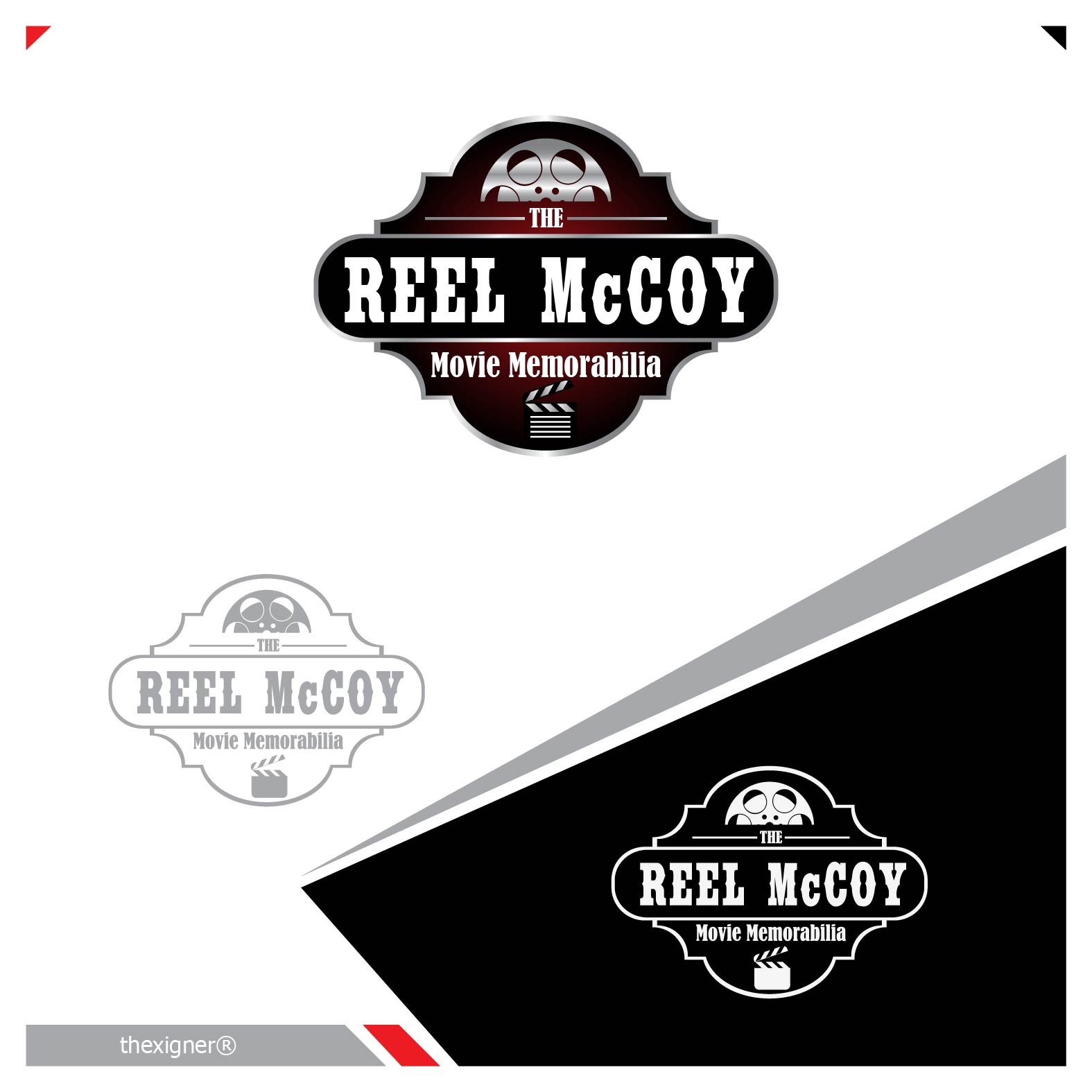 Logo Design by lagalag - Entry No. 20 in the Logo Design Contest Unique Logo Design Wanted for The Reel McCoy Movie Memorabilia.