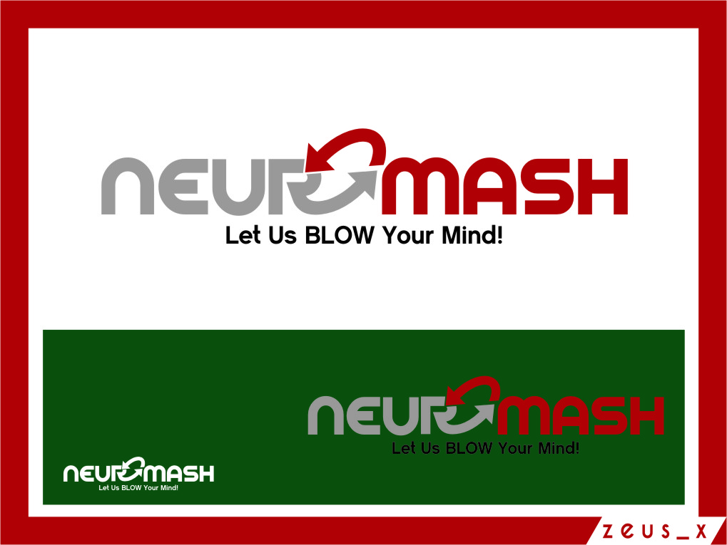 Logo Design by Ngepet_art - Entry No. 84 in the Logo Design Contest Unique Logo Design Wanted for NeuroMash.
