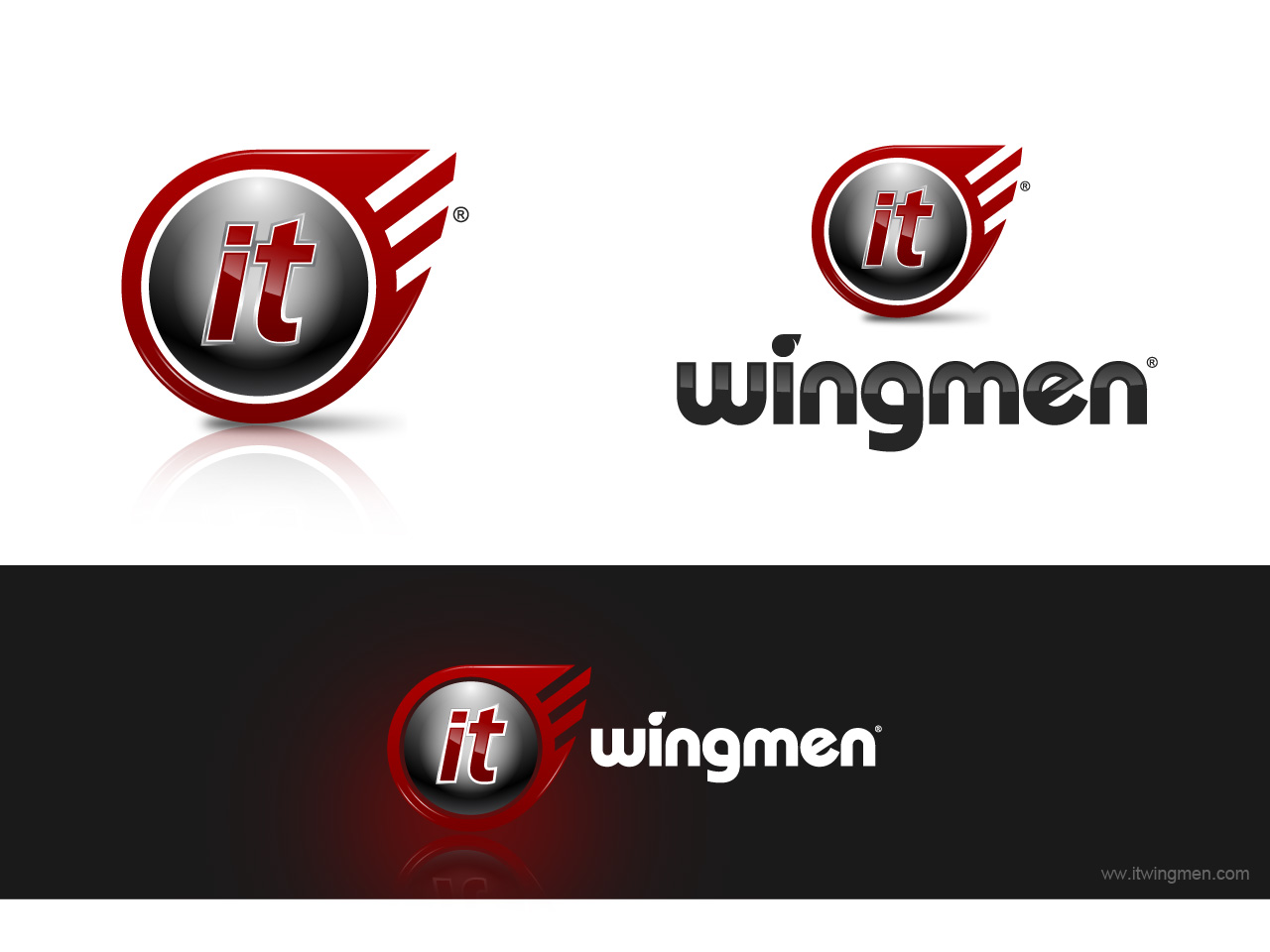 Logo Design by jpbituin - Entry No. 107 in the Logo Design Contest New Logo Design for IT Wingmen.