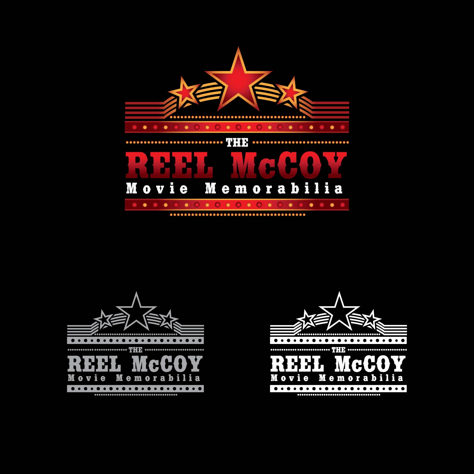 Logo Design by lagalag - Entry No. 21 in the Logo Design Contest Unique Logo Design Wanted for The Reel McCoy Movie Memorabilia.