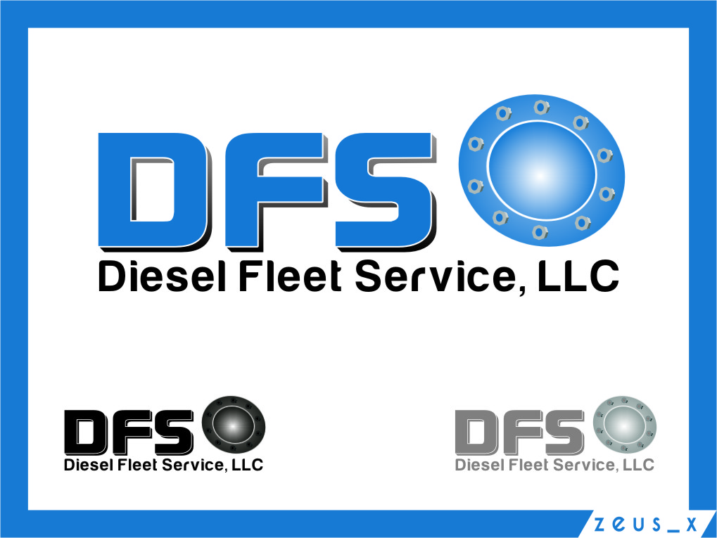 Logo Design by RoSyid Rono-Rene On Java - Entry No. 24 in the Logo Design Contest Artistic Logo Design for Diesel Fleet Service, LLC.