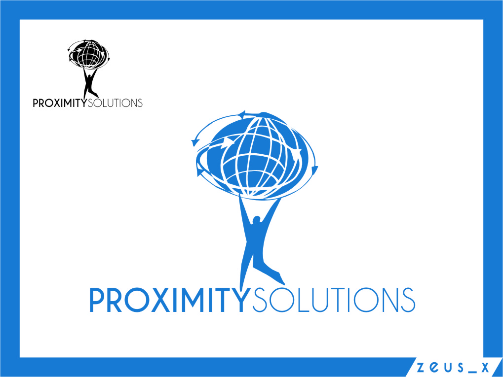 Logo Design by RoSyid Rono-Rene On Java - Entry No. 2 in the Logo Design Contest New Logo Design for Proximity Solutions.