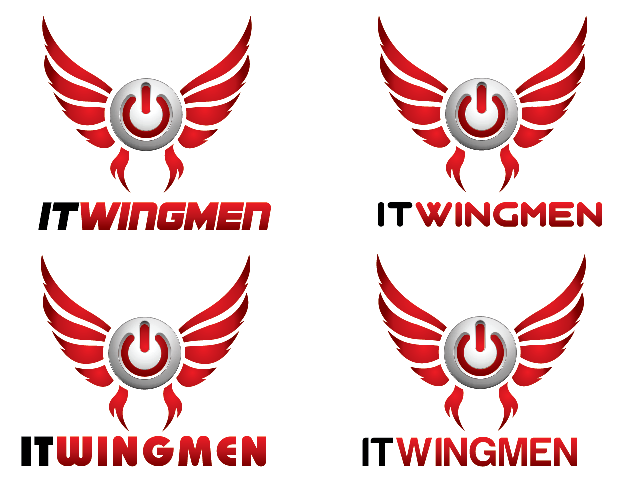 Logo Design by Private User - Entry No. 108 in the Logo Design Contest New Logo Design for IT Wingmen.