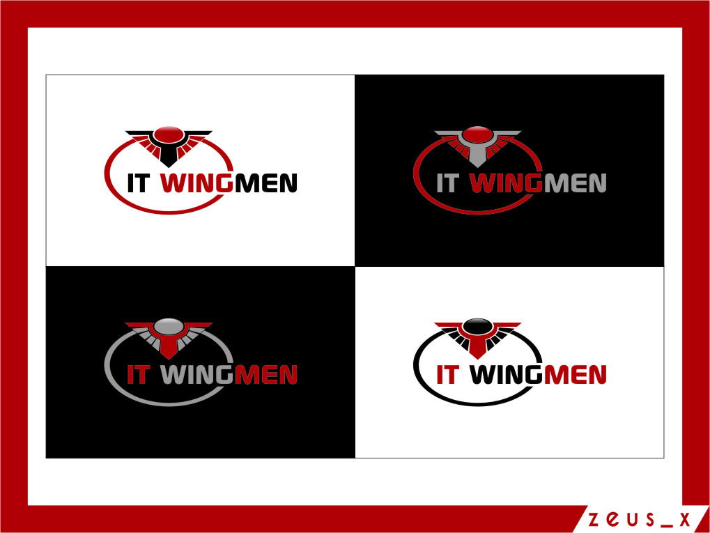 Logo Design by Ngepet_art - Entry No. 114 in the Logo Design Contest New Logo Design for IT Wingmen.