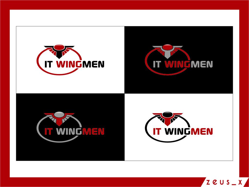 Logo Design by RasYa Muhammad Athaya - Entry No. 114 in the Logo Design Contest New Logo Design for IT Wingmen.