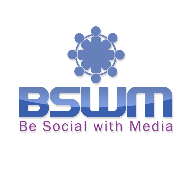 Logo Design by Private User - Entry No. 71 in the Logo Design Contest Imaginative Logo Design for Be Social With Media.