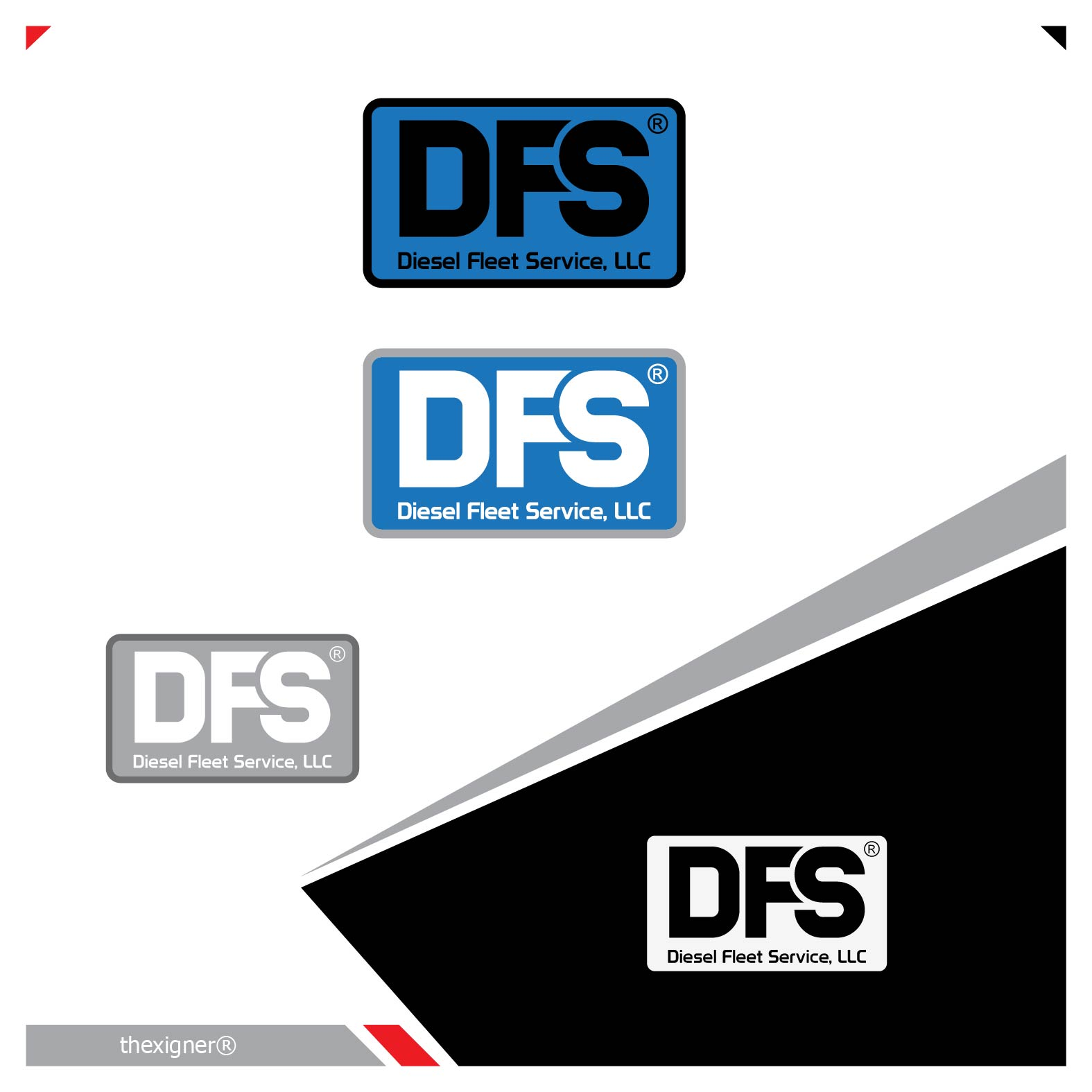 Logo Design by lagalag - Entry No. 26 in the Logo Design Contest Artistic Logo Design for Diesel Fleet Service, LLC.