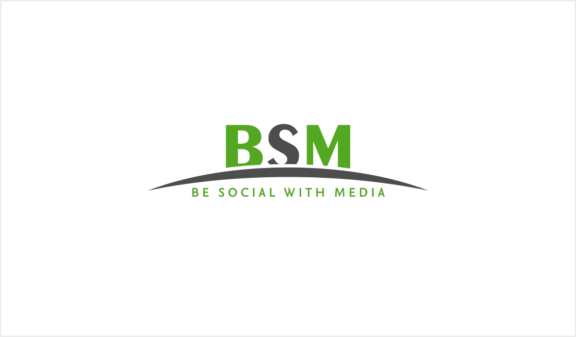 Logo Design by haidu - Entry No. 72 in the Logo Design Contest Imaginative Logo Design for Be Social With Media.