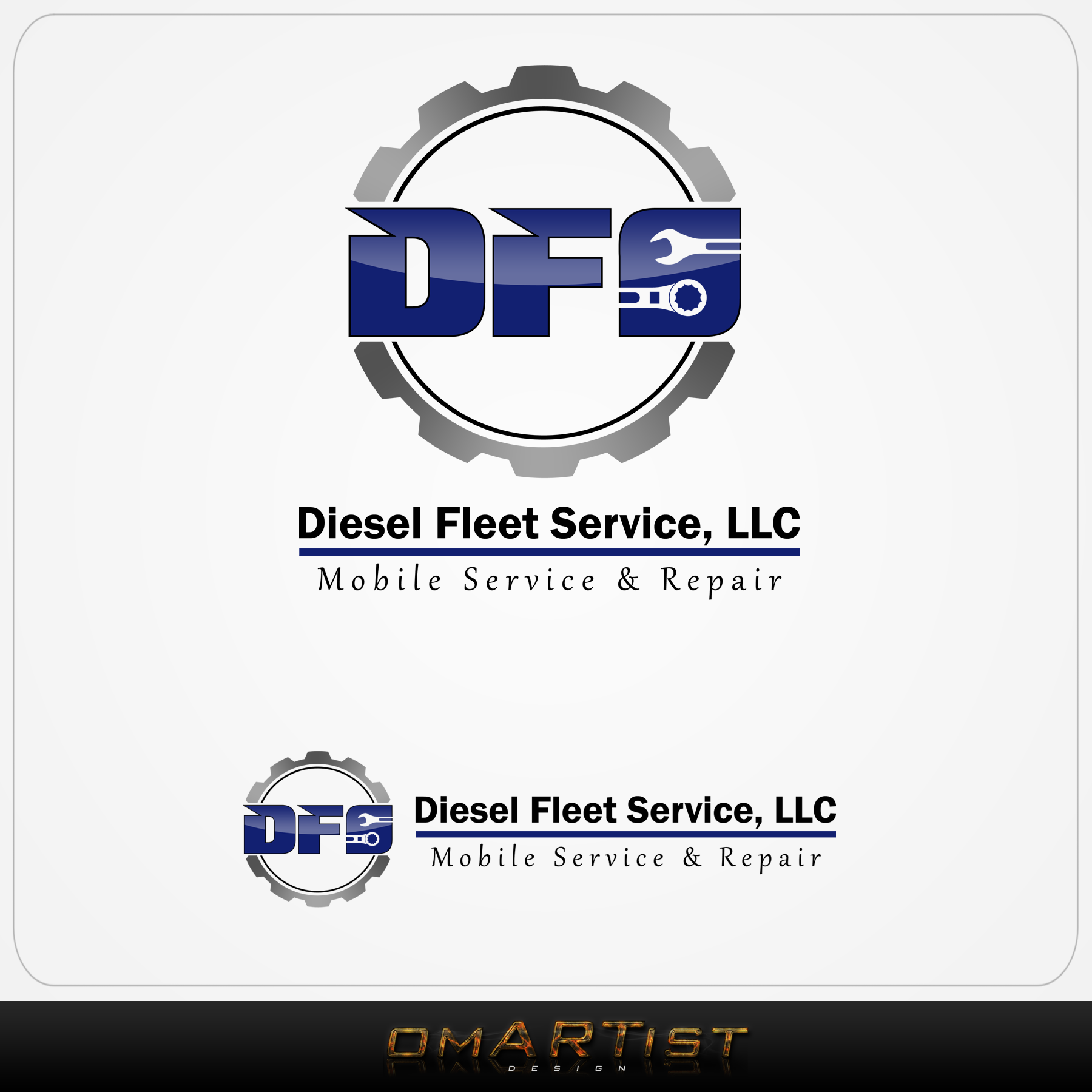 Logo Design by omARTist - Entry No. 27 in the Logo Design Contest Artistic Logo Design for Diesel Fleet Service, LLC.