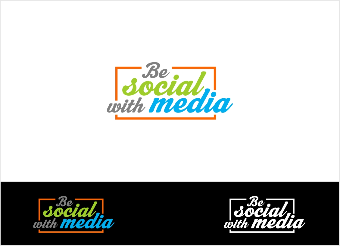 Logo Design by haidu - Entry No. 74 in the Logo Design Contest Imaginative Logo Design for Be Social With Media.