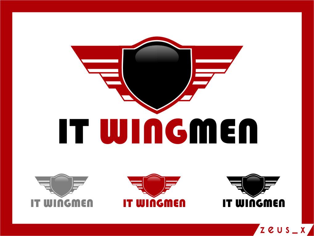 Logo Design by RasYa Muhammad Athaya - Entry No. 122 in the Logo Design Contest New Logo Design for IT Wingmen.