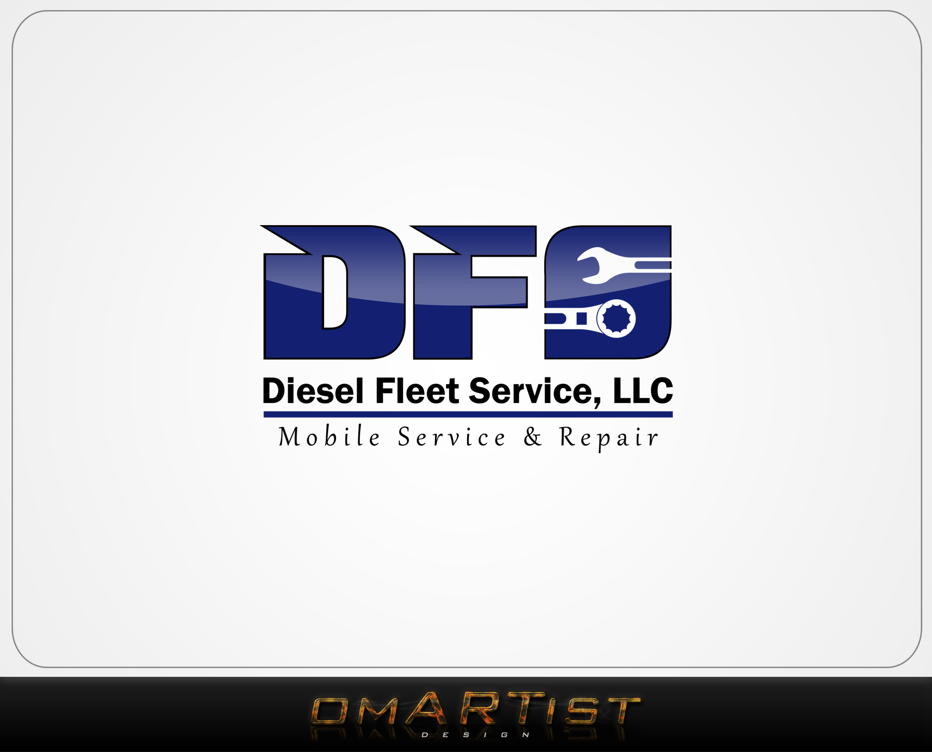 Logo Design by omARTist - Entry No. 28 in the Logo Design Contest Artistic Logo Design for Diesel Fleet Service, LLC.
