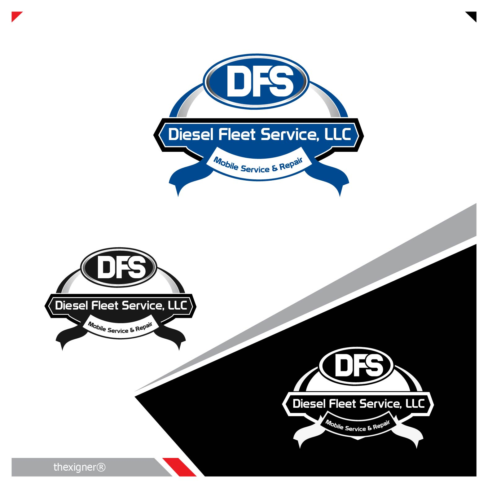 Logo Design by lagalag - Entry No. 29 in the Logo Design Contest Artistic Logo Design for Diesel Fleet Service, LLC.