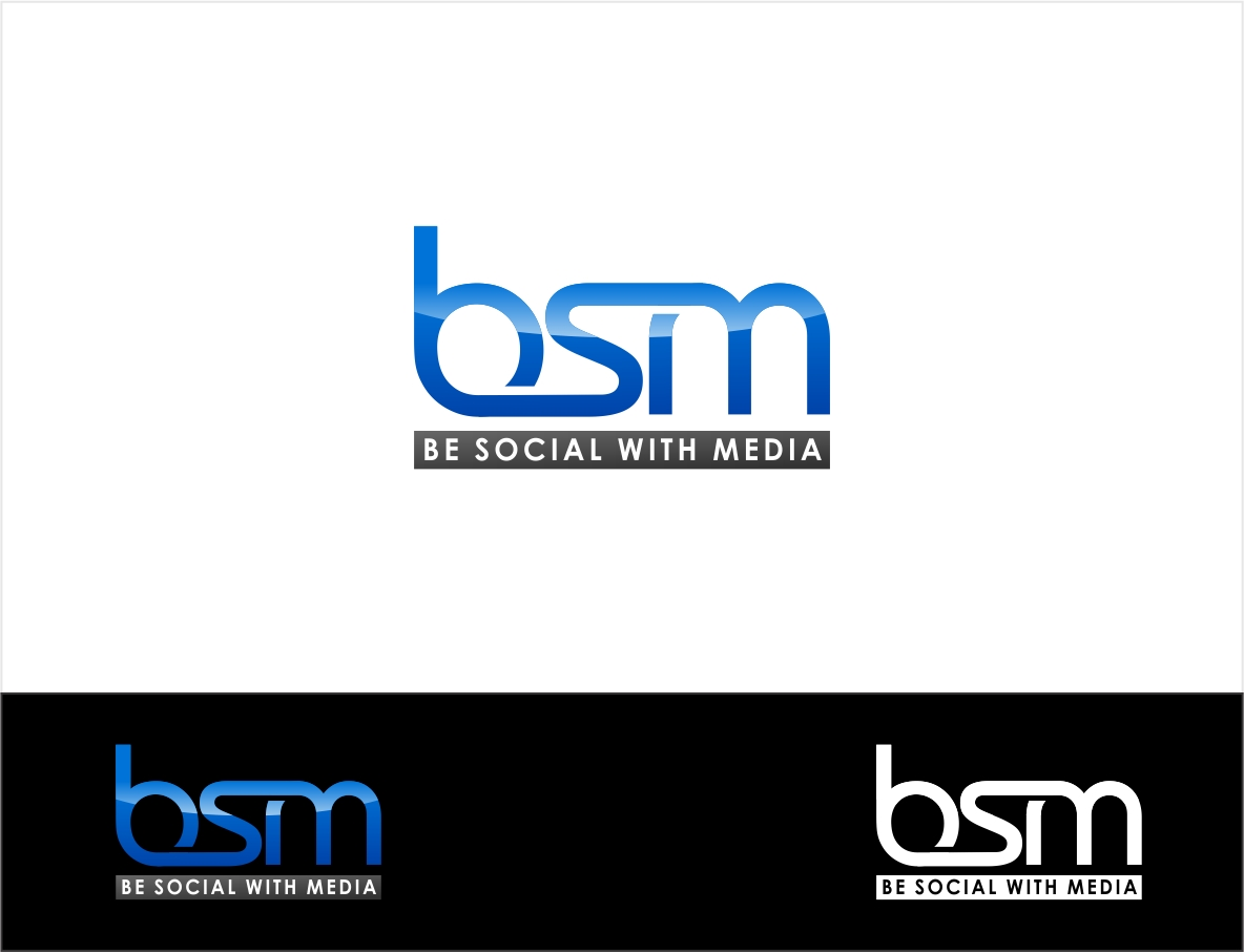 Logo Design by haidu - Entry No. 76 in the Logo Design Contest Imaginative Logo Design for Be Social With Media.