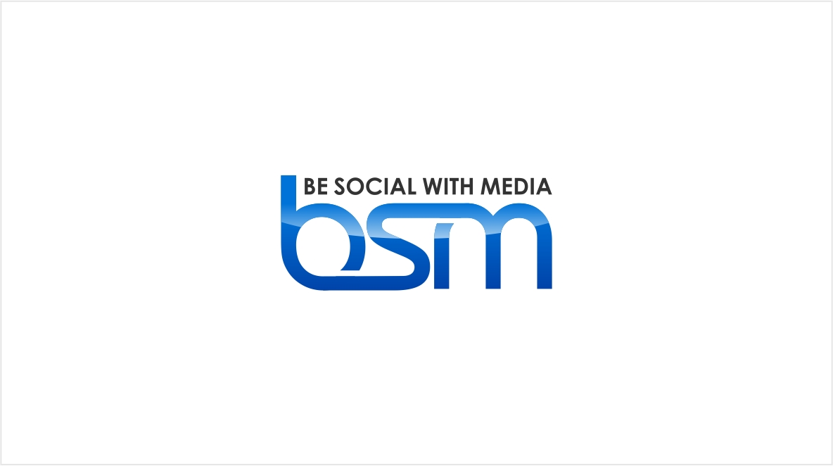 Logo Design by haidu - Entry No. 77 in the Logo Design Contest Imaginative Logo Design for Be Social With Media.