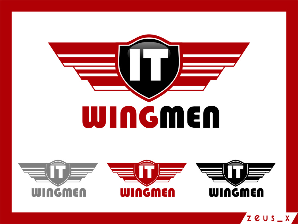 Logo Design by RoSyid Rono-Rene On Java - Entry No. 123 in the Logo Design Contest New Logo Design for IT Wingmen.