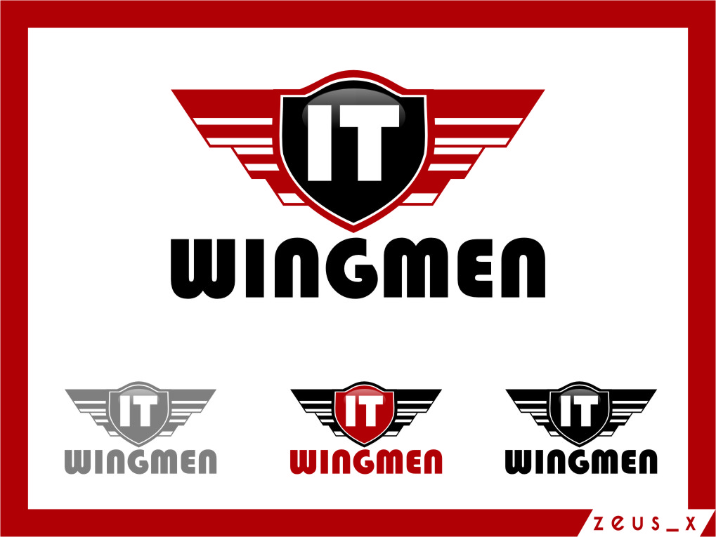 Logo Design by RasYa Muhammad Athaya - Entry No. 128 in the Logo Design Contest New Logo Design for IT Wingmen.