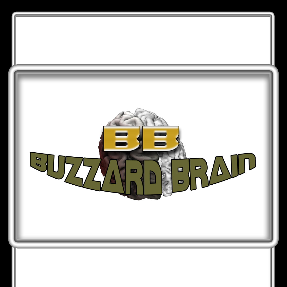 Logo Design by MITUCA ANDREI - Entry No. 20 in the Logo Design Contest Buzzard Brain Logo Design.